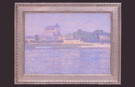 Framed Artwork by Claude Monet