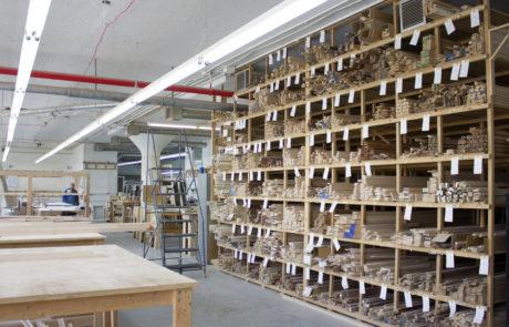 Moulding Storage