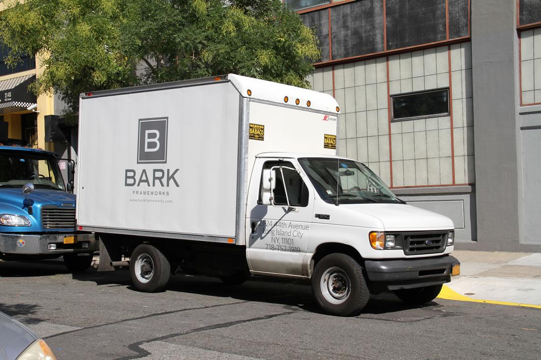 Bark Frameworks Secure Delivery Truck
