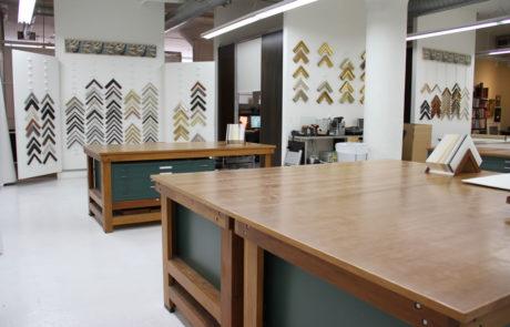 The White Showroom at Bark Frameworks