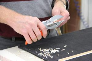 Fillets Being Cut for Frames
