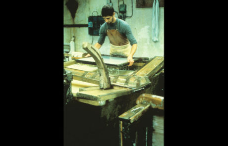 Making Paper by Hand