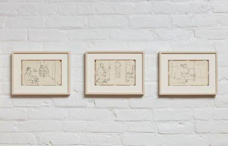 Artist Alex Katz Artwork in Timothy Taylor Gallery