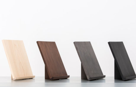 Four Custom Easels in Different Finishes