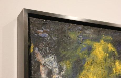 Corner Detail - Upper Left Corner - of Framed Painting