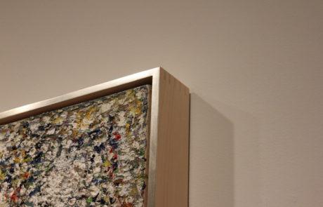 Frame Corner Detail - Upper Right Corner of Painting