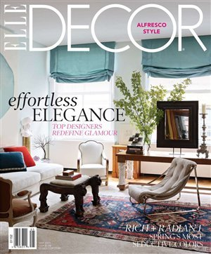 Elle Decor Cover May 2011