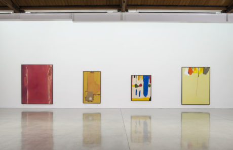 Four Frankenthaler Paintings at Gagosian Gallery