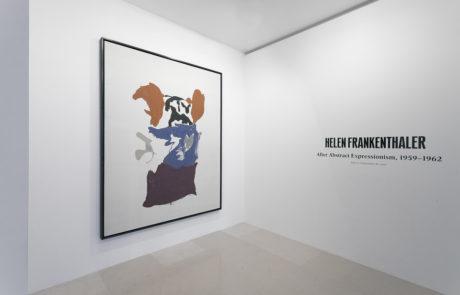 Helen Frankenthaler Exhibition Opening