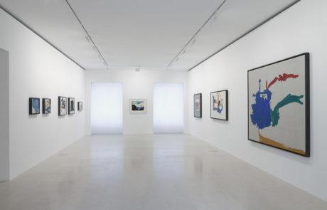 Nine Helen Frankenthaler Paintings