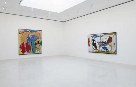 Two Large Helen Frankenthaler Paintings
