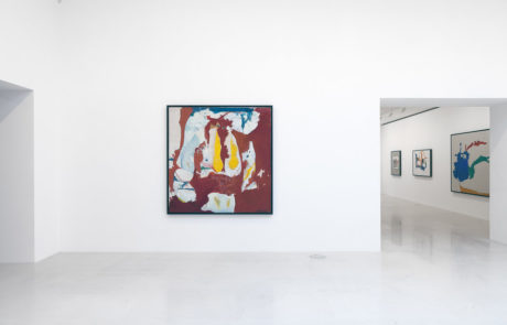 One Helen Frankenthaler Painting with a View to Three More in the Next Room