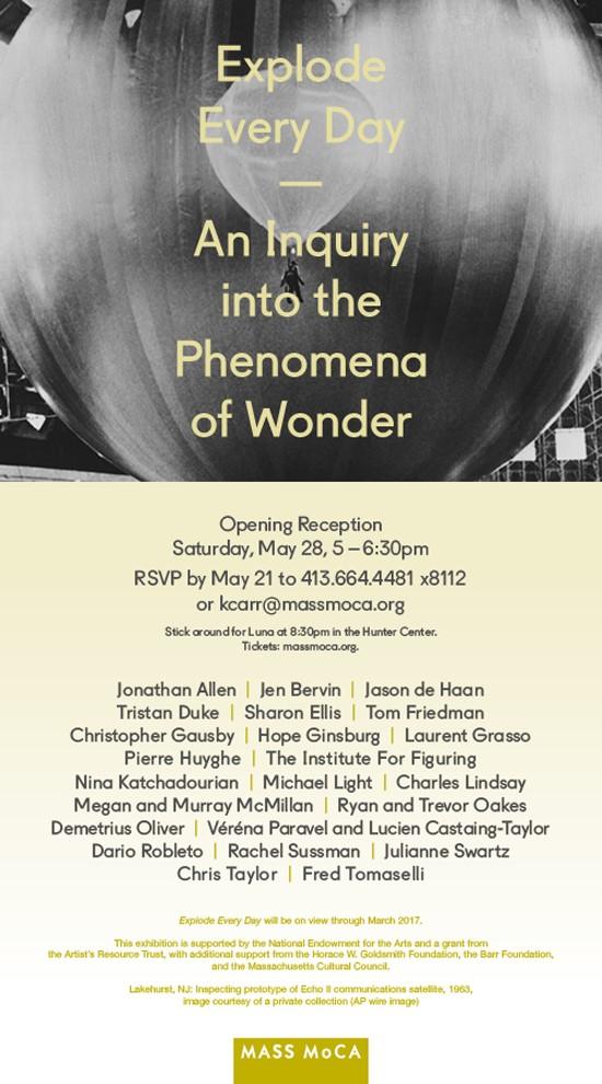 Mass MOCA Invitation