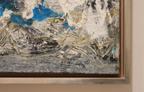 Lower Left Frame Corner Detail