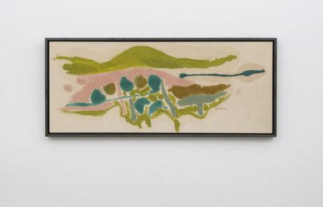 One Small Helen Frankenthaler Painting