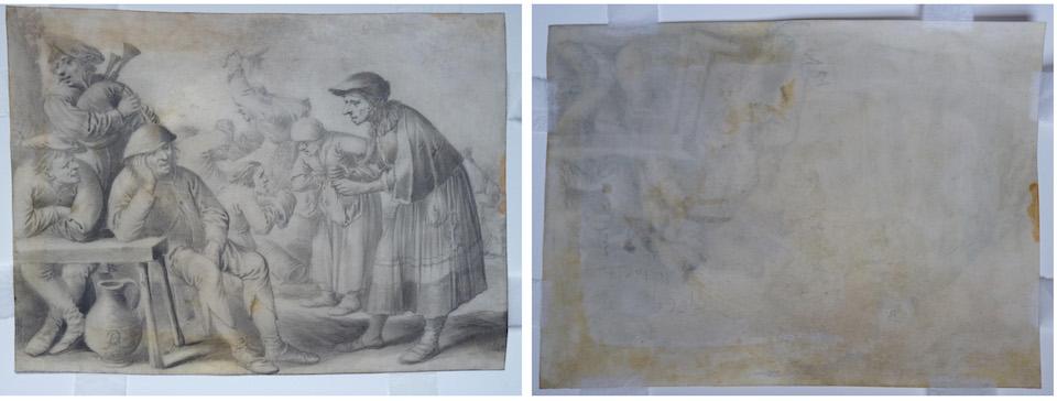 Pieter Quast Print After Treatment