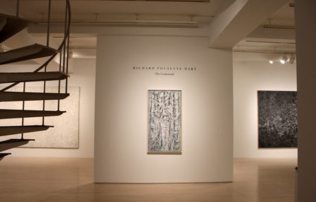 Richard Pousette-Dart Entrance to Exhibition at Pace Gallery
