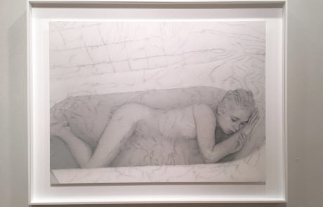 One Sebastiaan Bremer Piece of Art with Woman in Tub