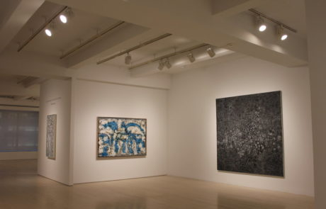 Richard Pousette-Dart Exhibition at Pace Gallery with Three Paintings