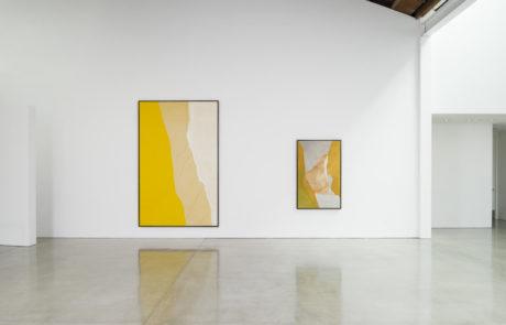 Two Helen Frankenthaler Paintings at Gagosian Beverly Hills