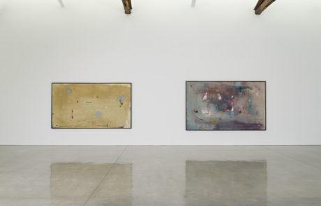 Two Large Horizontal Frankenthaler Paintings