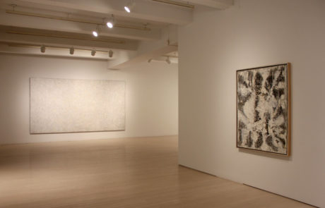 Richard Pousette-Dart Exhibition at Pace Gallery with Two Paintings