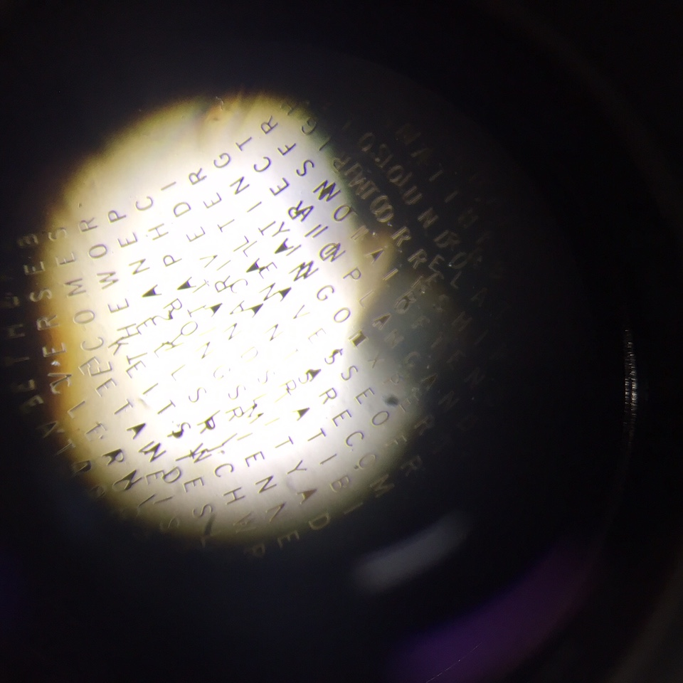 Viewing the Poem Through a Microscope