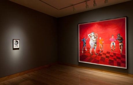 Two Wardell Milan Paintings at Fraenkel Gallery
