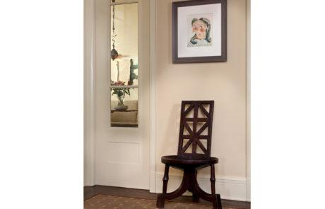 Bark Frame for Glenn Dissler Design Above Chair