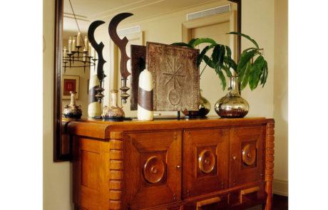 Bark Frame for Glenn Dissler Design Sitting on Dresser