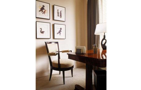 Bark Frames for Glenn Dissler Design Behind Desk