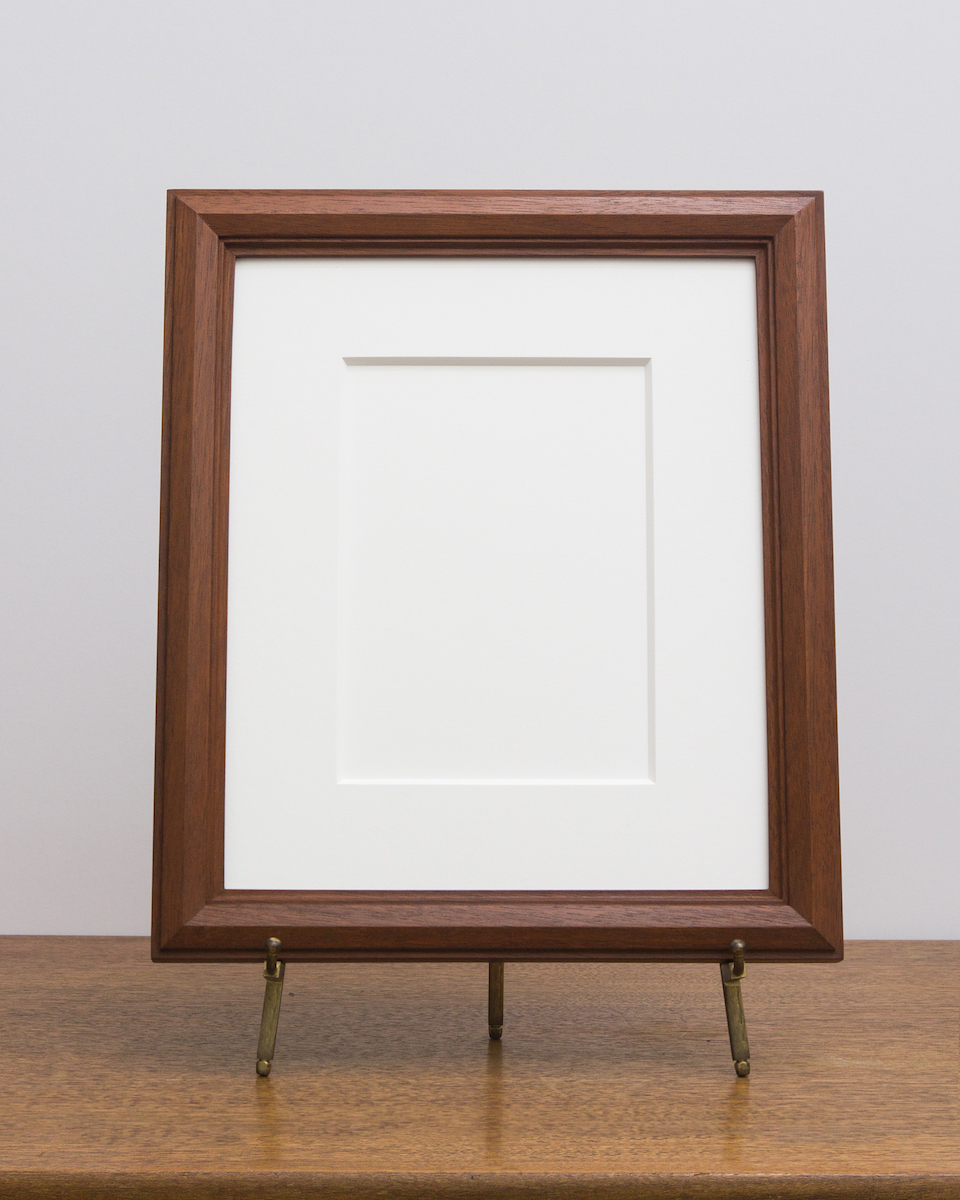 Cairo Frame with Sienna Stain