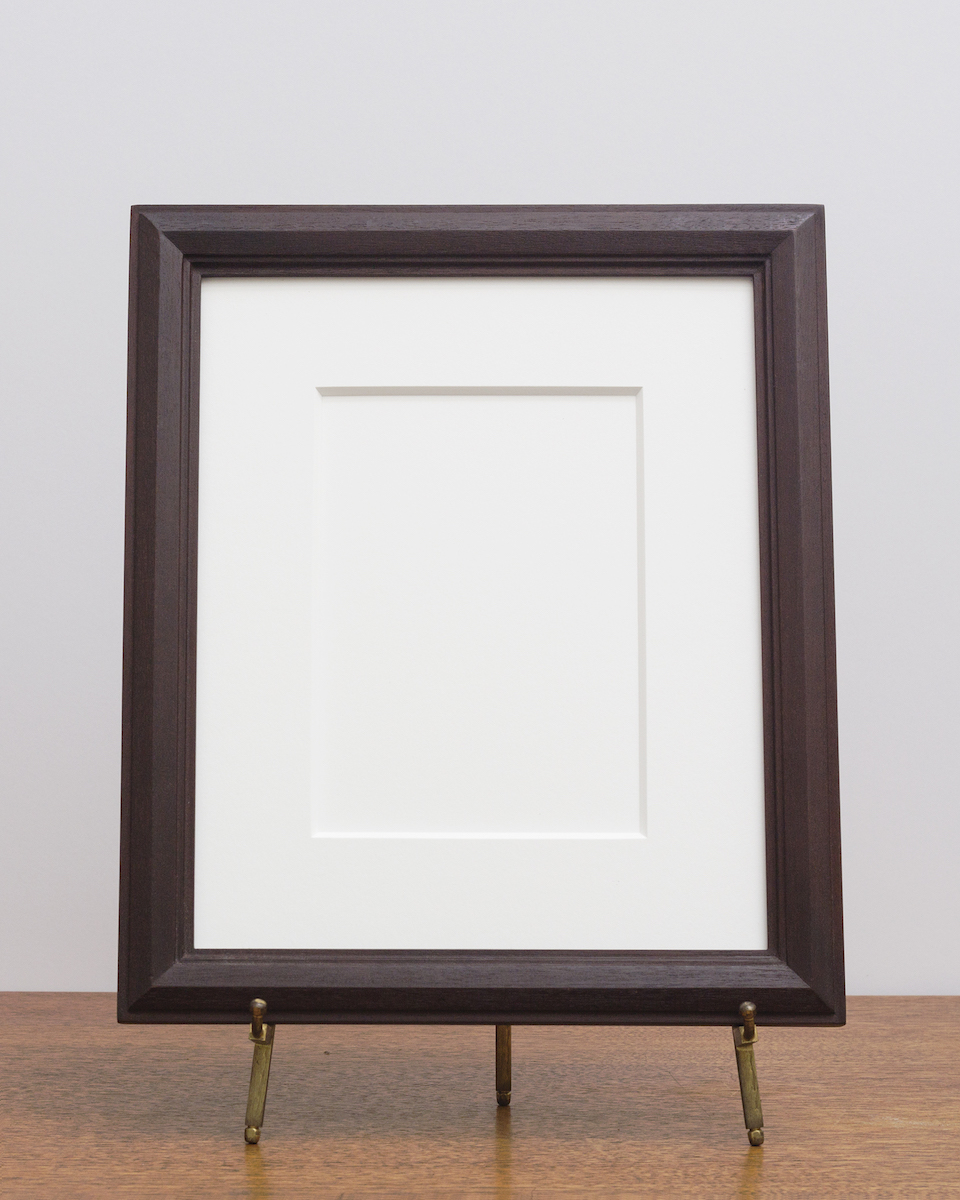 Cairo Frame with Umber Stain
