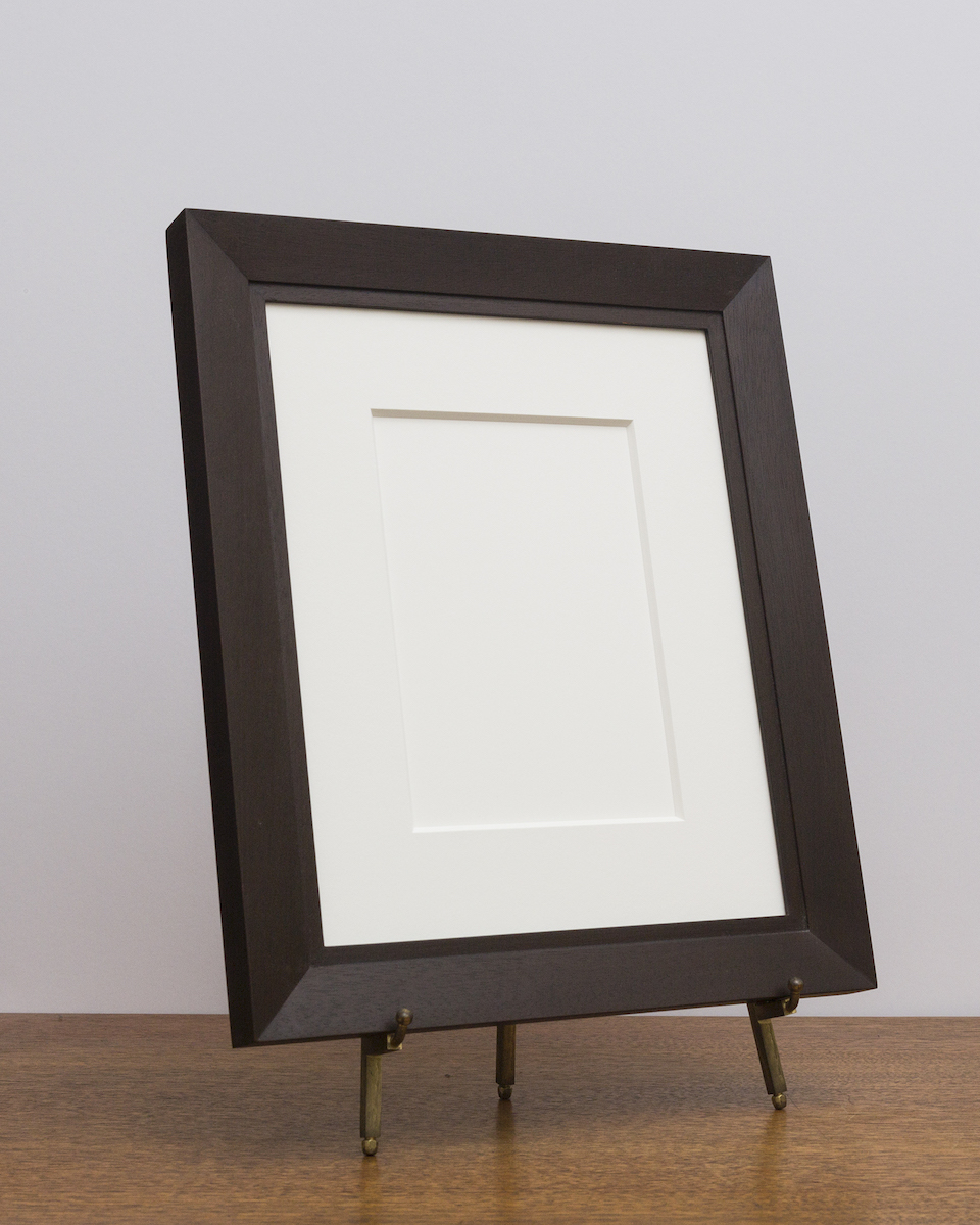 Charleston Frame with Umber Stain from Side