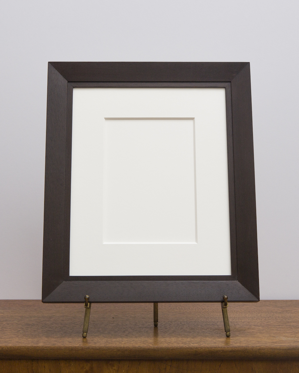 Charleston Frame with Umber Stain