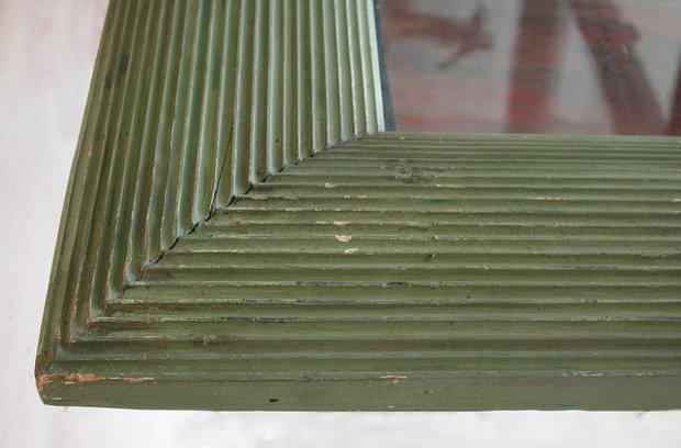 Corner Detail of Frame Designed by Degas