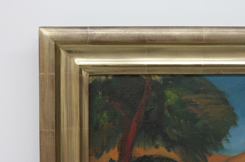 Corner Detail of New Frame