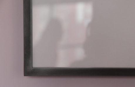 Corner Frame Detail of T-Shaped Aluminum