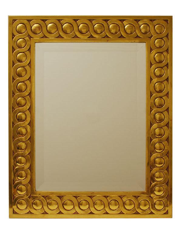 Custom Made Gilded Frame Mirror