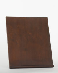 Thinback Maple Table Easel in Dark Brown