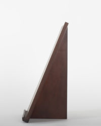 Thinback Maple Table Easel in Dark Brown Side Profile