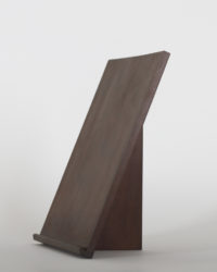 Thinback Maple Table Easel in Dark Brown Three Quarter View