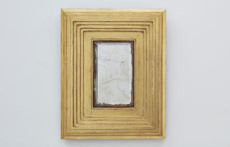 Degas No 1 Yellow Gold Custom Mirror