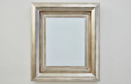 Degas No 3 Krazy Kat White Gold Custom Mirror