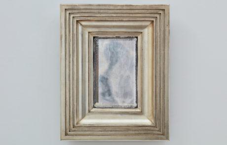 Degas No 4 White Gold Custom Mirror