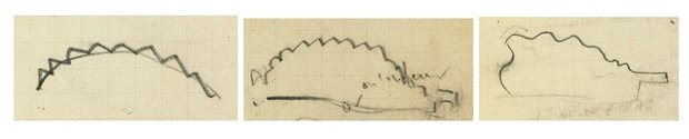 Three Drawings from a Degas Sketchbook