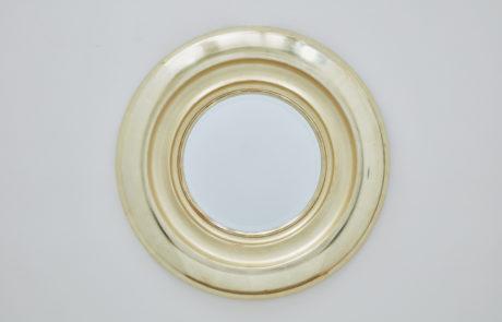 Degas Tondo No 1 Pale Gold Custom Mirror