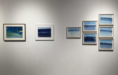 Elizabeth Enders at Real Art Ways Paintings of Ocean