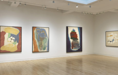 Four Framed Helen Frankenthaler Paintings at Gagosian Gallery