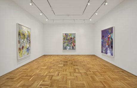 Three Large George Condo Drawings in Skarstedt Gallery
